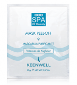 Очищающая альгинатная СПА-маска № 9 с протеинами йогурта - Keenwell SPA of Beauty-Mask Peel-Off 9